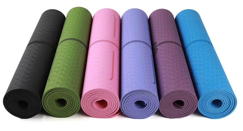 Nos différents tapis de yoga avec alignement
